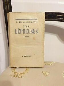 Montherlant-Les-Lepreuses-Grasset-1942-TBE
