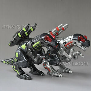 Diecast-Metal-Dinosaur-Robot-Model-Toys-Touch-Function-Sound-Light-Action-Figure