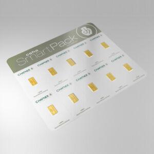 10 x 1 Gramm Goldbarren - Smartpack - C.Hafner - Gold 999,9 Feingold Barren