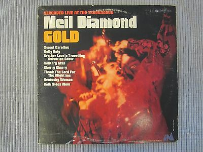 Neil Diamond Gold Vinyl Record Lp Uni Records