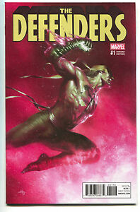 Defenders-1-Marvel-2017-NM-Gabriele-Dell-039-Otto-Color-Variant-Iron-Fist-Luke-Cage