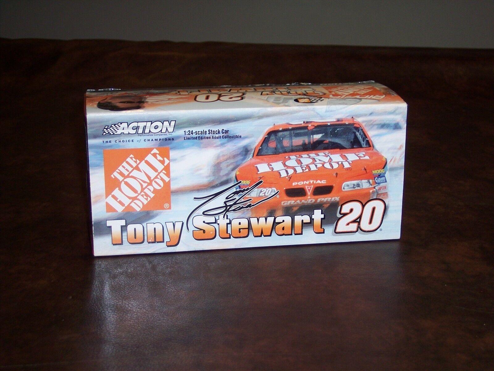 ACTION - TONY STEWART STEWART STEWART - PONTIAC - HOME DEPOT - orange - NEW - (HTF) 05161f