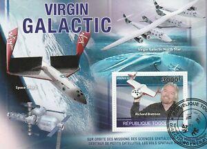 Raumfahrt Togo 2010 gestempelt 2186