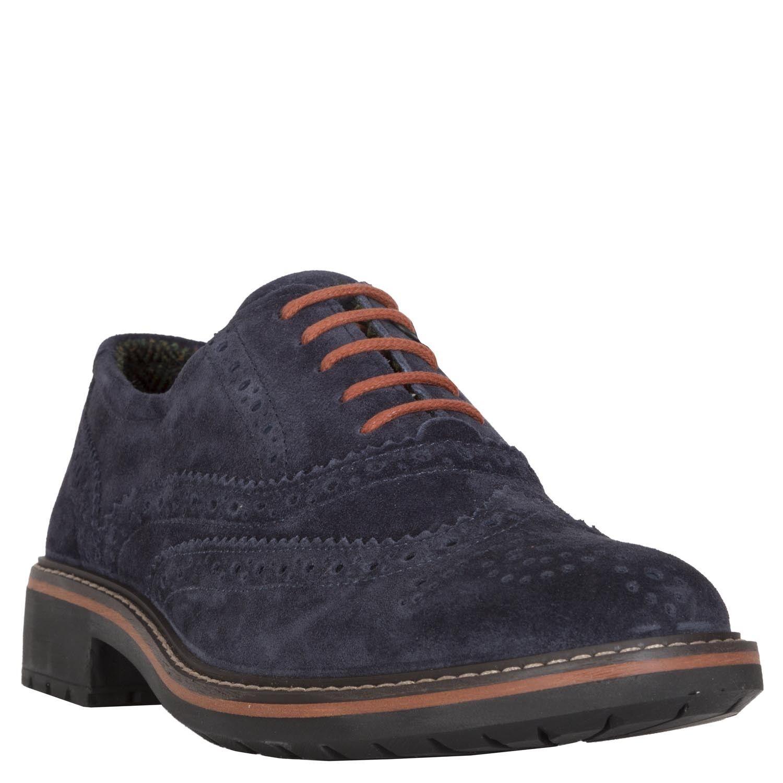 Igi&Co 86810 00,Scamosc. Brush Blu-Scarpe Blu-Scarpe Blu-Scarpe Stringate Basse Oxford Uomo scarpe da ginnastica cfa539