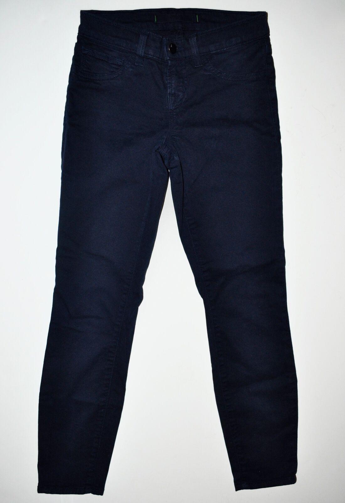 J Brand Low Rise Skinny Capri Cropped Jeans in Marine Size 23