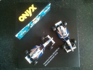 Onyx-1-43-F1-Williams-Renault-FW18-Twin-Set-AP-Lockheed-Automotive-Products