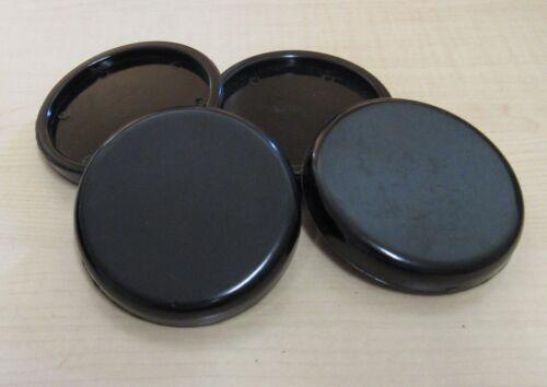 Untersetzer Klavier Gleiter aus Kunststoff schwarz außen 70 mm Ø 1 Stück