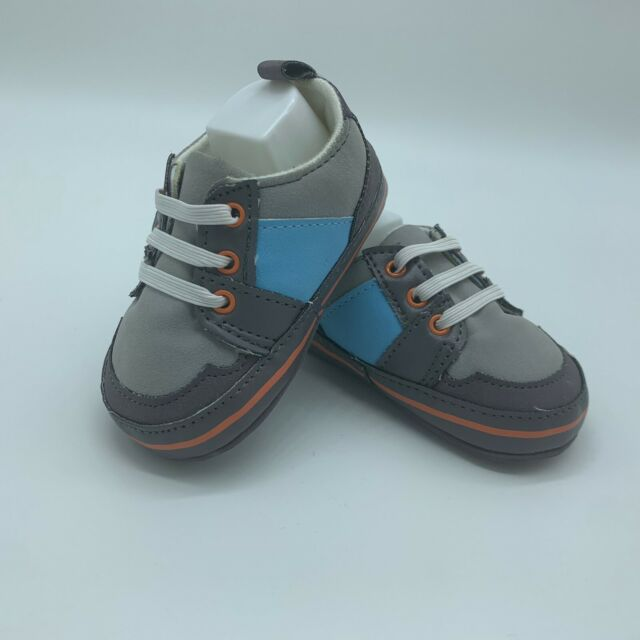 Carter's Baby Boy Shoes 0-3 Months Gray Blue Orange ...