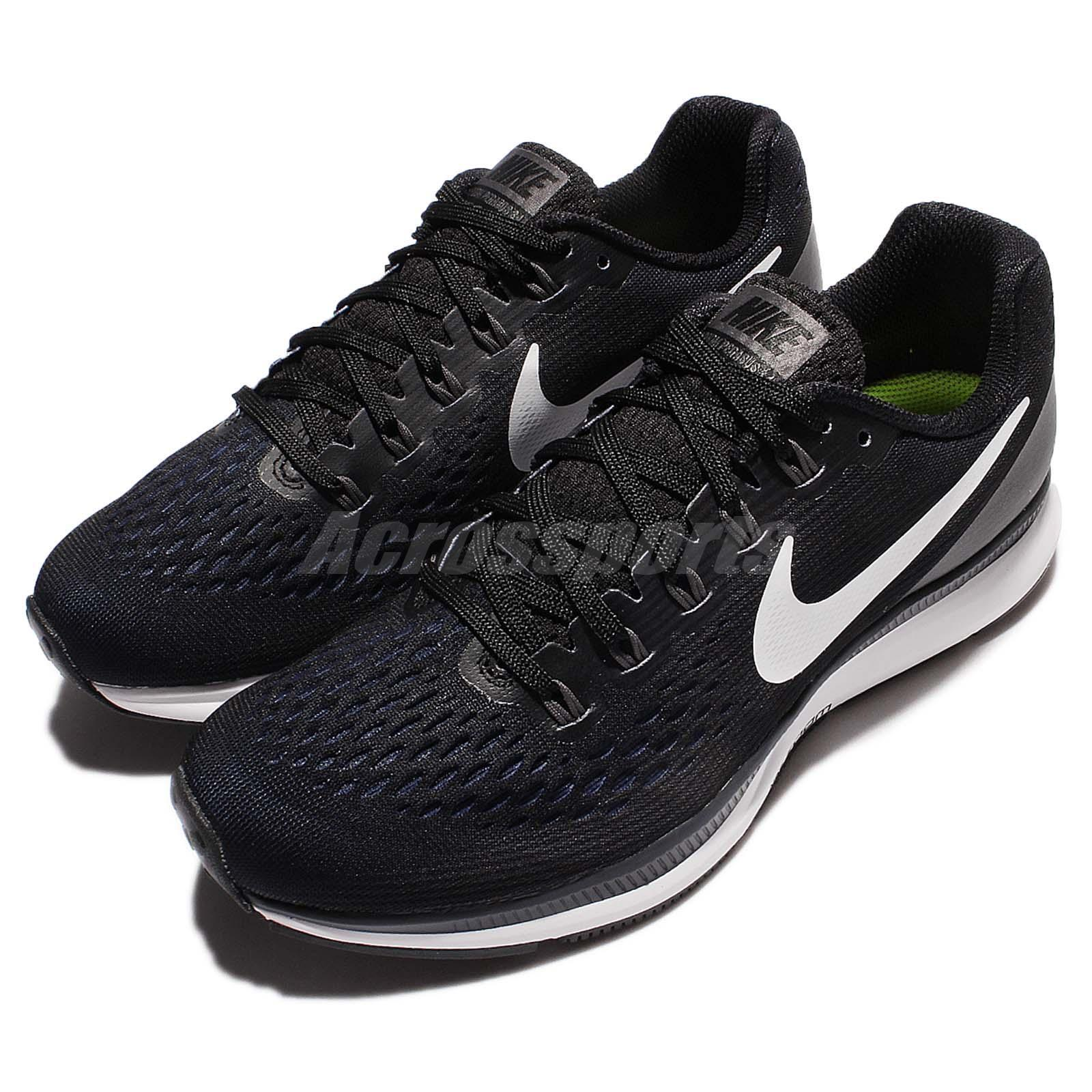 NIKE WOMENS AIR ZOOM PEGASUS 34 WIDE WIDTH ATHLETIC SHOES [880561 001]