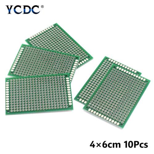 5 10Pcs Duel Sides PCB Leiterplatte Prototyp Board Universal Breadboard
