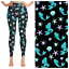 Sparkling Little Mermaid Ariel Princess Leggings OS TC TC2 /& Kids SM LXL