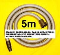 Starmix Industriesauger Saugschlauch 5m Staubsaugerschlauch Fü Rothenberger 1200