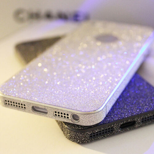 iPhone 4 4S 5 5S Glitter Bling FULL Body Luxury Sticker Skin Screen Protector