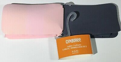GYMBOREE UNIFORM IVORY N NAVY SOLID BASIC TIGHTS 2-PACK 5 6 7 8 NWT