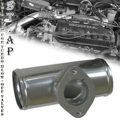 Type-S Style Universal Blow Off Valve BOV Kit with 2.5 Inch Flange Pipe Turbo Blow Off Valve