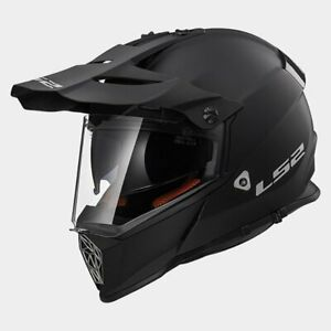 LS2-MX436-PIONEER-ADVENTURE-MOTORCYCLE-HELMET-MATTE-BLACK-MEDIUM