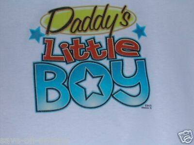 DADDY/'S LITTLE BOY Lap Shoulder Creeper sizes Newborn to 24 Months THE BEST Cute