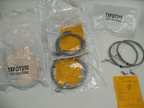 2 Per Pack Mini Looping Gripper Lot of 10 10 TXFGT310 Light Hanger Kits 10 Ft