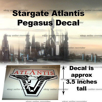 stargate atlantis pegasus decal sticker tv show *fs
