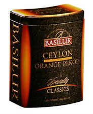 Basilur - Ceylon Orange Pekoe - Loose Black Tea -100G - Tin Caddy