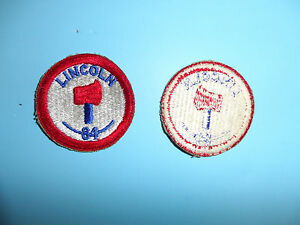 b5207 WW2 US Army 80th Infantry  Division patch for WW1 Vets in WW2