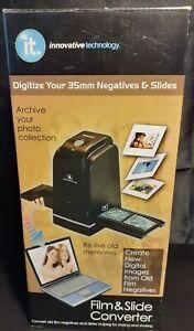 IT Film & Slide Converter ITNS-300 Digitize 35mm Negatives & Slides !New/Sealed!
