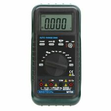 Mastech My68 Auto Range Digital Multimeter Dmm Withcapacitance Frequency Hfe Test