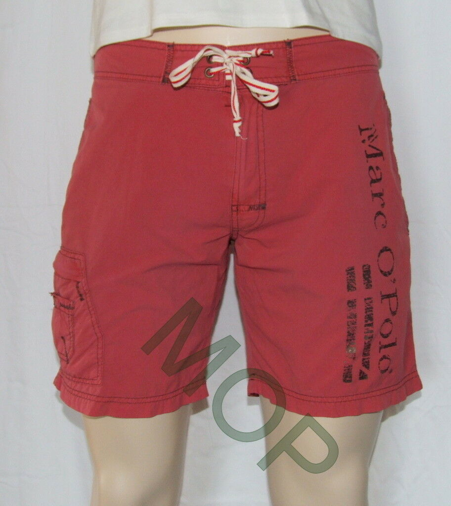 Marc O`Polo Badeshort Gr.  XXL  red  cooles  Modell  NEU