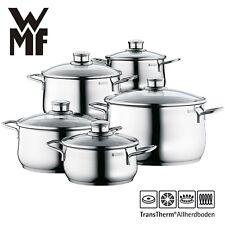 WMF Topfset Induktion 5-teilig mit Schüttrand induktionsgeeignet Topf