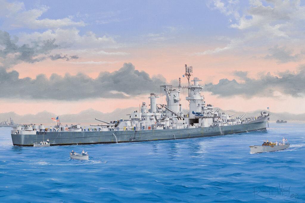 HobbyBoss Models 1 350 USS Guam CB-2 Cruiser