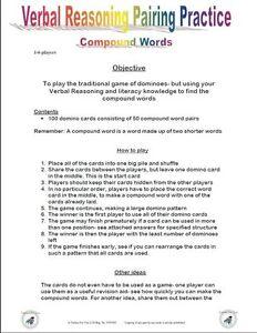 11-PLUS-VERBAL-REASONING-COMPOUND-DOMINO-GAME-NFER-BOND-CEM