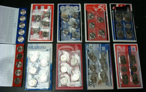 """COIN STATE QUARTERS COMPLETE SEALED SET 1999-2008 100 UNCIR P+D /""""SHIPS FREE/"""""""