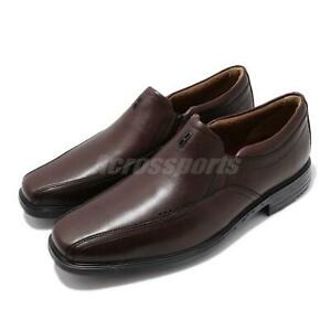 new specials purchase newest top brands Details about Clarks Un Sheridan Go Brown Leather Black Men Slip On Casual  Loafers Dress Shoes