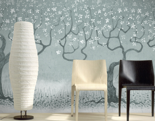 3D Branches Graffiti Forest Paper Wall Print Wall Decal Wall Deco Indoor Murals