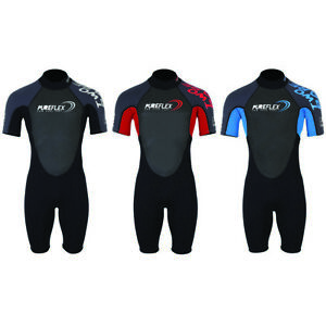 Two-Bare-Feet-Adults-PUREFLEX-Shorty-Wetsuit