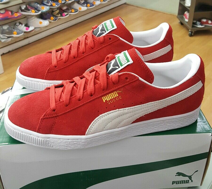 PUMA SUEDE CLASSIC 352634 2018 HIGH RISK Rouge Homme US SZ 11