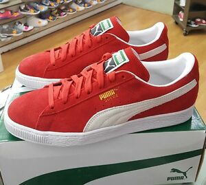 competitive price 03ad3 8572b Details about PUMA SUEDE CLASSIC 352634 65 HIGH RISK RED MENS US SZ 10.5