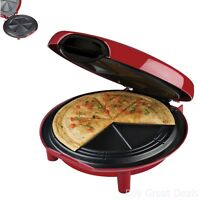 """George Foreman Quesadilla Maker 10"""" Electric Non-stick Round Indoor Grill Specialty Kitchen Appliances"""