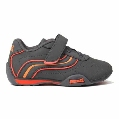 Kids Lonsdale Camden Infants Trainers Low Lightweight New