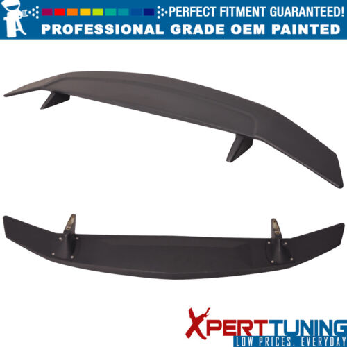 OEM Painted Color Fit 16-18 Civic Sedan Coupe SI Style Painted Trunk Spoiler