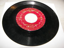 JOHNNIE RAY LOOK HOMEWARD ANGEL /YOU DON'T OWE ME A THING 45 VG Columbia 4-40803