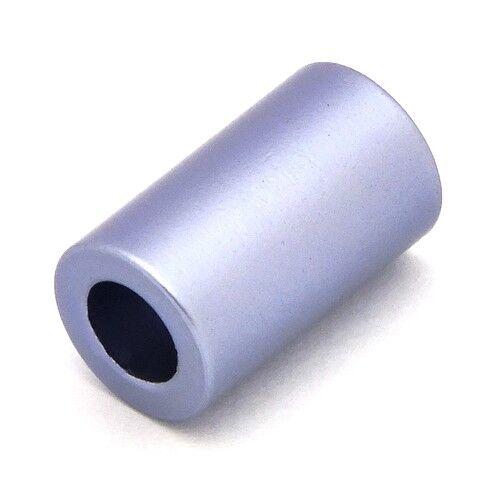 10 x 6mm schwarz 1Stk Loxalu® Beads Röhrchen ca