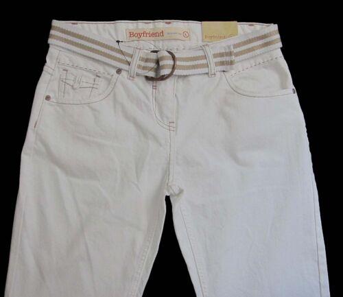 New Womens White Boyfriend NEXT Jeans Size 18 16 8 Regular