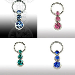 intimate PIERCING jewellery Ear Breast Clitoris Ring Balls