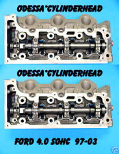 PAIR FORD EXPLORER MOUNTAINEER 4.0 SOHC 97-06 V6 CYLINDER HEADS REBUILT NO CORE