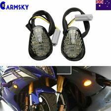 For 2002-2014 2010 Yamaha YZF-R1 YZFR1 Smoke LED Turn Signal light Flush Mount