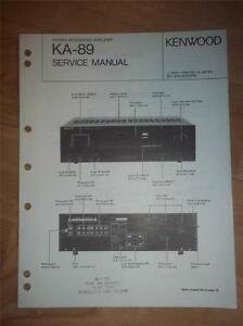 kenwood repair manuals