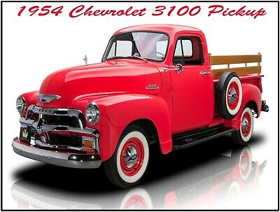 LARGE SIZE  12 X 16 1954 Chevrolet 3100 Pickup Truck New Metal Sign