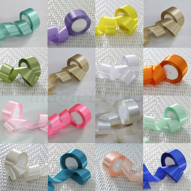 Hot DIY Satin Ribbon Wedding Garland Flower Birthday Party Festival Decor