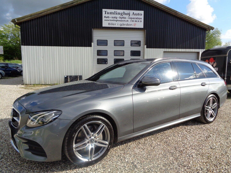 Mercedes E220 d 2,0 AMG Line stc. aut. 5d - 500.000 kr.